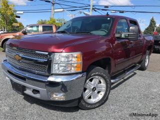 Used 2013 Chevrolet Silverado 1500 LT, crewcab, 4x4 for sale in Drummondville, QC