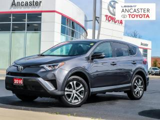 Used 2016 Toyota RAV4 LE - NO ACCIDENTS|BLUETOOTH|KEYLESS|POWER PACKAGE for sale in Ancaster, ON