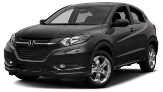 Used 2016 Honda HR-V EX POWER SUNROOF | RAIN SENSING WIPERS | REARVIEW CAMERA WITH DYNAMIC GUIDELINES for sale in Cambridge, ON
