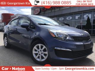 Used 2016 Kia Rio LX+ w/ECO | 1 OWNER | BLUETOOTH | | for sale in Georgetown, ON
