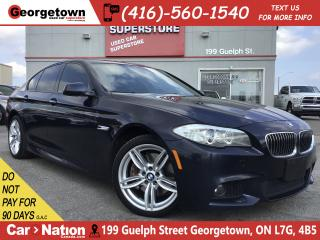 Used 2013 BMW 535 I xDrive | LEATHER | NAVI | ROOF | BU CAM | M PKG for sale in Georgetown, ON