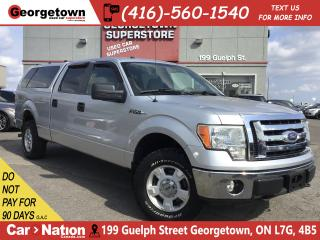 Used 2010 Ford F-150 XLT | V8 | 4X4| CAP| CLEAN CARFAX TOW PKG| 6' BOX for sale in Georgetown, ON
