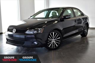Used 2013 Volkswagen Jetta Sportline Cuir+Toit+Alliage+++ for sale in St-Jean-Sur-Richelieu, QC