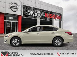 Used 2015 Nissan Altima 2.5 S  - Sunroof -  Bluetooth - $96 B/W for sale in Orleans, ON
