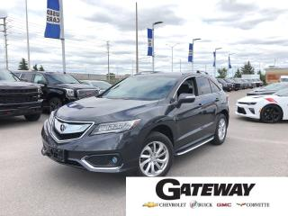 Used 2016 Acura RDX TECH PKG|NAV|LEATHER|ROOF|ALLOYS| for sale in Brampton, ON