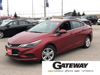 Used 2017 Chevrolet Cruze LT||REMOTE START|APPLE CARPLAY|REAR CAM| for sale in Brampton, ON