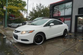Used 2012 Honda Civic 2 portes, boîte automatique EX for sale in Laval, QC
