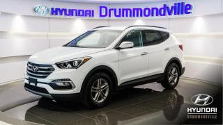 Used 2018 Hyundai Santa Fe Sport PREMIUM AWD + MAGS + VOLANT CHAUFFANT !! for sale in Drummondville, QC