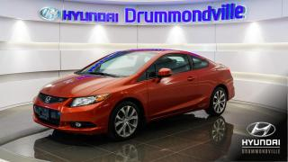 Used 2012 Honda Civic SI + NAVI + TOIT + MAGS + BLUETOOTH !! for sale in Drummondville, QC