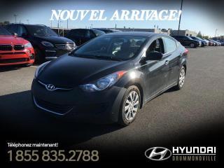 Used 2013 Hyundai Elantra GL + GARANTIE + A/C + BLUETOOTH !! for sale in Drummondville, QC