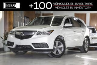 Used 2016 Acura MDX 2016 Acura MDX * Certified * Warranty 130 000km* for sale in Montréal, QC