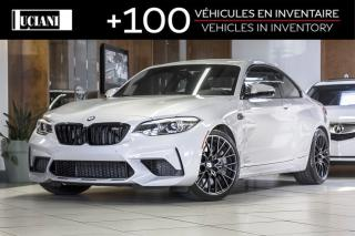 Used 2019 BMW M2 2019 BMW M2 Competition * ONLY 3 000KM * MANUEL * for sale in Montréal, QC