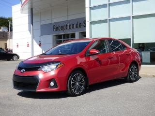 Used 2015 Toyota Corolla S - CVT - Toit ouvrant - Sièges chauff. for sale in Trois-Rivières, QC
