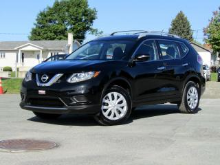 Used 2015 Nissan Rogue S + AWD + SIÈGES CHAUFF. + CAMÉRA + A/C! for sale in Magog, QC