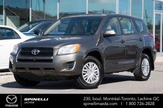 Used 2010 Toyota RAV4 FWD PROPRE BAS MILEAGE TOYOTA RAV4 2010 for sale in Lachine, QC