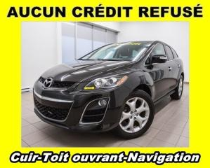 Used 2010 Mazda CX-7 GT AWD TOIT OUVRANT CUIR *NAVIGATION* for sale in Mirabel, QC