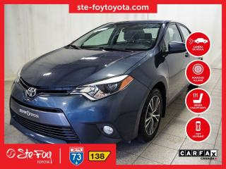 Used 2016 Toyota Corolla LE Toit ouvrant, Roue en alliage for sale in Québec, QC
