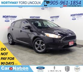 Used 2017 Ford Focus SE | HTD SEATS+WHEEL | BACKUP CAM | SAT RADIO | for sale in Brantford, ON