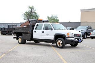 Used 2006 GMC Sierra 3500 Dump Truck for sale in Brampton, ON