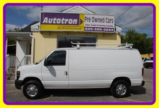 Used 2010 Ford E-250 3/4 Ton Cargo Van, A/C Roof Rack for sale in Woodbridge, ON