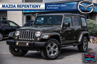 Used 2016 Jeep Wrangler 2016 Jeep WRANGLER UNLIMITED - 4WD 4dr Sahara for sale in Repentigny, QC