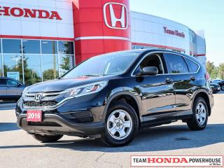 Used 2016 Honda CR-V LX for sale in Milton, ON