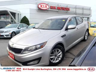 Used 2013 Kia Optima LX for sale in Burlington, ON
