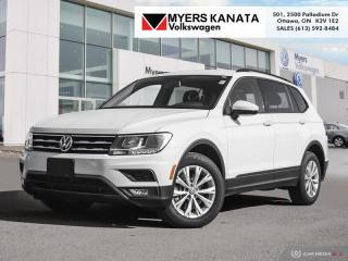 Used 2018 Volkswagen Tiguan Trendline 4MOTION  -  Bluetooth for sale in Kanata, ON
