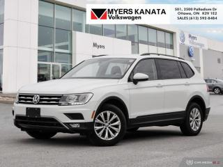 Used 2018 Volkswagen Tiguan Trendline 4MOTION  -  Bluetooth for sale in Kanata, ON