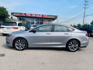 Used 2016 Chrysler 200 S|NAV|PANOROOF|VANTEDSEAT|CERTIFIED & MORE! for sale in Mississauga, ON