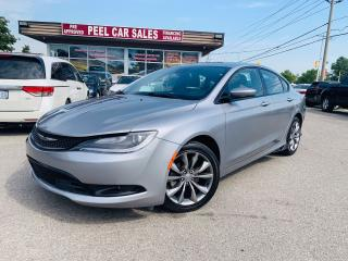 Used 2016 Chrysler 200 S|NAV|PANOROOF|VANTEDSEAT|CERTIFIED & MORE! for sale in Guelph, ON