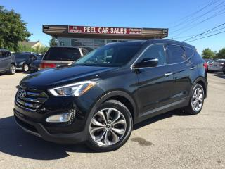 Used 2014 Hyundai Santa Fe Sport 2.0|TURBO|AWD|LEATHER|PANOROOF|REARVIEW|CERTIFIED! for sale in Mississauga, ON
