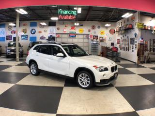 Used 2015 BMW X1 X DRIVE AUT0 AWD LEATHER PANO/ROOF P/SEAT 87K for sale in North York, ON