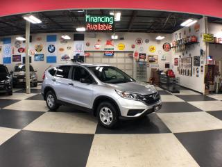 Used 2015 Honda CR-V LX AUT0 A/C CRUISE H/SEATS REAR CAMERA 76K for sale in North York, ON