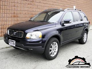 Used 2007 Volvo XC90 3.2 AWD 7-SEAT || CERTIFIED || for sale in Waterloo, ON