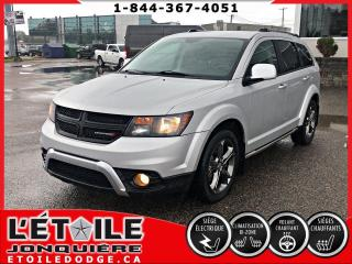 Used 2014 Dodge Journey JOURNEY CROSSROAD AWD, DEMARREUR A DISTA for sale in Jonquière, QC