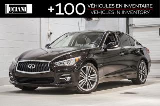 Used 2015 Infiniti Q50 2015 Infiniti Q50 - 4dr Sdn AWD for sale in Montréal, QC