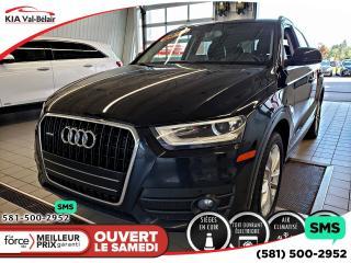 Used 2015 Audi Q3 * 2.0T TECHNIK* TOIT * CUIR* BLUETOOTH* for sale in Québec, QC