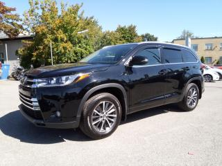 Used 2018 Toyota Highlander AWD XLE NAVIGATION CAMERA CUIR TOIT 8 PASSAGER for sale in St-Eustache, QC