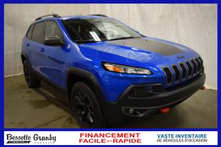 Used 2018 Jeep Cherokee Trailhawk +Hitch, Aucun Carfax+ for sale in Cowansville, QC