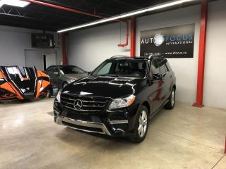 Used 2012 Mercedes-Benz ML-Class ML 350 BlueTEC, 4MATIC,NAVI, SENSORS, TO for sale in Montréal, QC