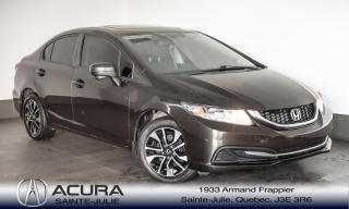 Used 2014 Honda Civic EX for sale in Ste-Julie, QC