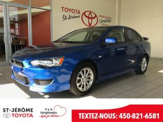 Used 2011 Mitsubishi Lancer * SE * AIR * 121 000 KM * AILERON for sale in Mirabel, QC