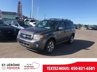 Used 2010 Ford Escape * LIMITED * V6 4X4 * CUIR * TOIT * for sale in Mirabel, QC