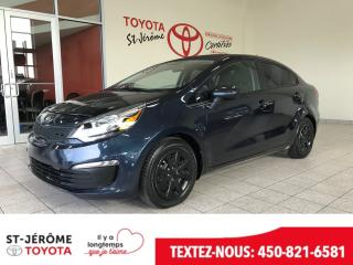 Used 2016 Kia Rio * * AIR * GR ÉLEC * for sale in Mirabel, QC