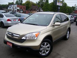 Used 2008 Honda CR-V EX-L,AWD,SUNROOF,TINTED,LEATHER,ALLOYS,CERTIFIED for sale in Kitchener, ON