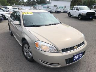 Used 2010 Chevrolet Impala LT for sale in St Catharines, ON