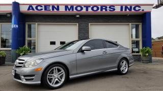 Used 2012 Mercedes-Benz C-Class ONLY  6,300 KM* AMG PACK, NAVIGATION, PANROOF for sale in Hamilton, ON
