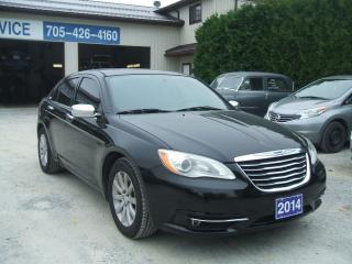 Used 2014 Chrysler 200 Limited for sale in Beaverton, ON