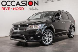 Used 2016 Dodge Journey R/T V6 AWD 7.PASS+NAVI+CUIR+BLUETOOTH for sale in Boisbriand, QC